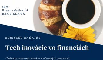 Posledné voľné miesta – bezplatné biznis raňajky – 13.11.2019