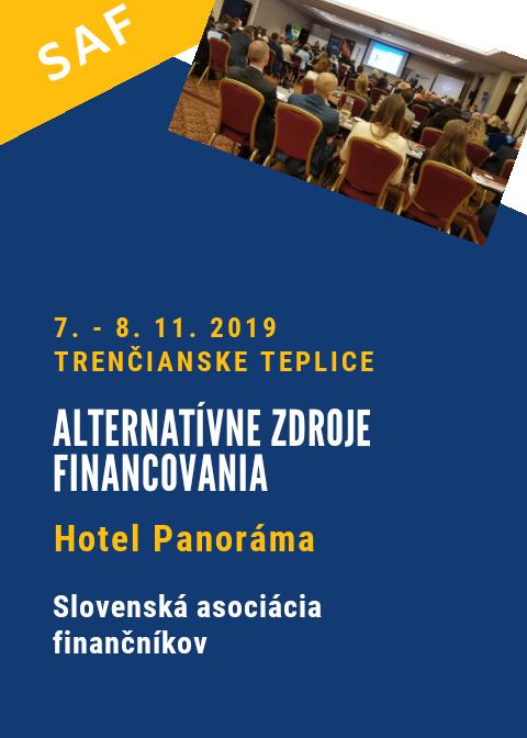 Alternatívne zdroje financovania_7. - 8. 11. 2019